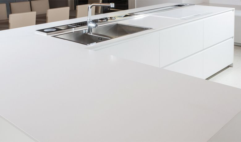 Give Your Kitchen That Extra Bit Of Shine With A White Lapitec