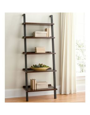 Ladder Bookcase Put Printer On It And Office Stuff Ladder