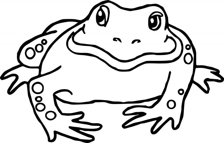 Frog Bullfrog Amphibian Coloring Page Wecoloringpage Com Animal Coloring Pages Coloring Pages Coloring Pages Winter