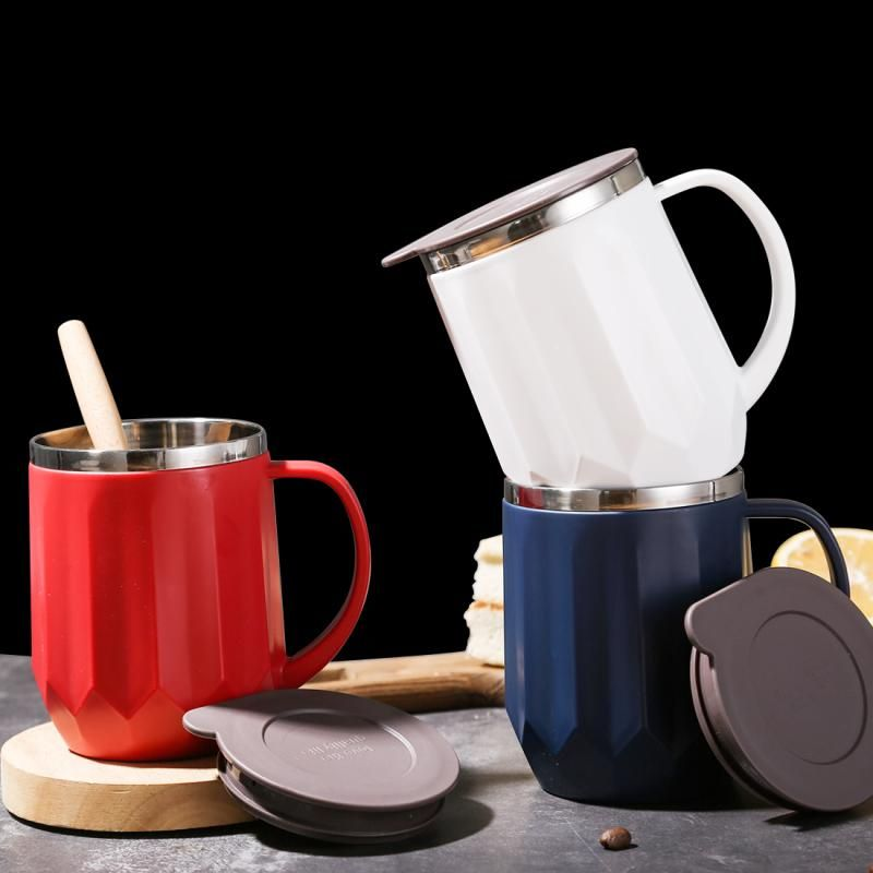400ml coffee mugs thermos insulation stainless steel water