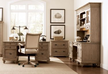5 Pc Coventry Executive Home Office Desk Set