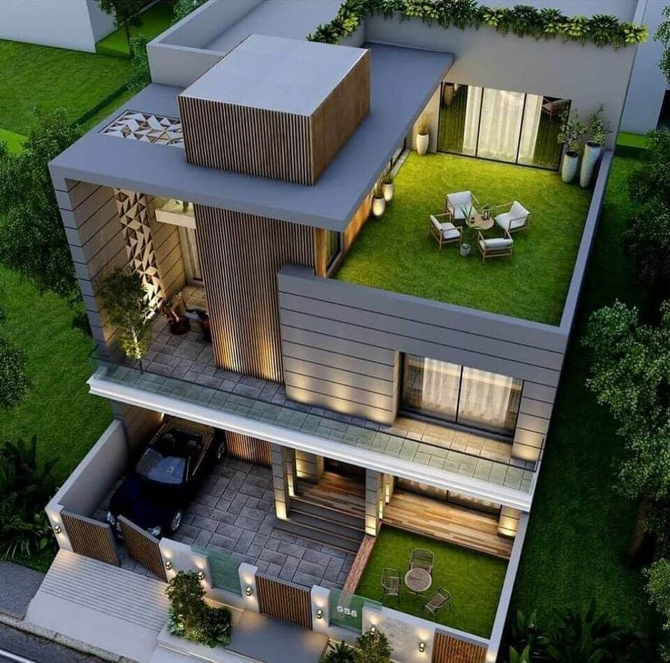 40 Top Beautiful Exterior House Designs Ideas Engineering Discoveries Small House Design Exterior Dream House Exterior Modern Small House Design Backyard design for houses