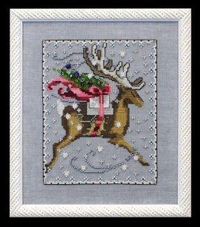 Donner Christmas Eve Couriers Nora Corbett Mirabilia Cross Stitch Pattern