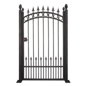 Delightful Black Garden Metal Gate TRGG 124 At The Home Depot 400 Bucks And 6 Feet Tall