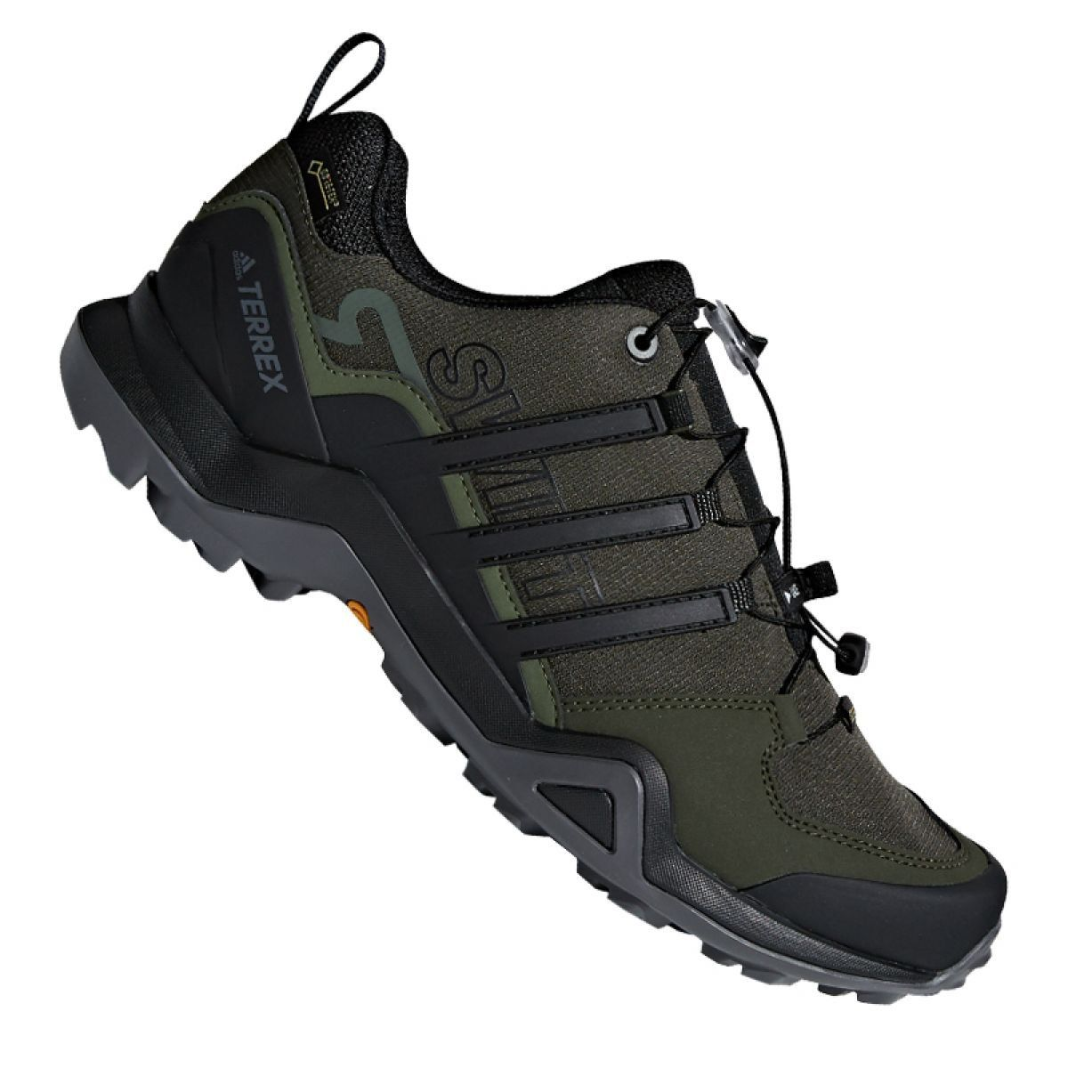Adidas Terrex Swift R2 Gtx M Shoes Green Mens Hiking Boots Sports Shoes Adidas Shoes