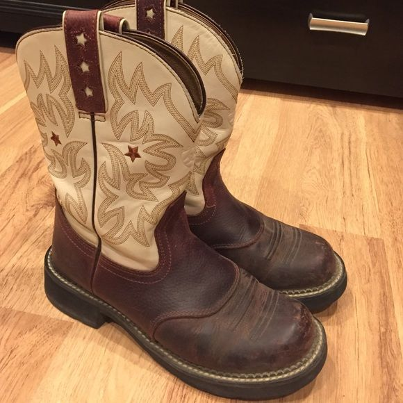 Ariat boots, fat babies. well kept. Good soles | Baby boots, Tans ...