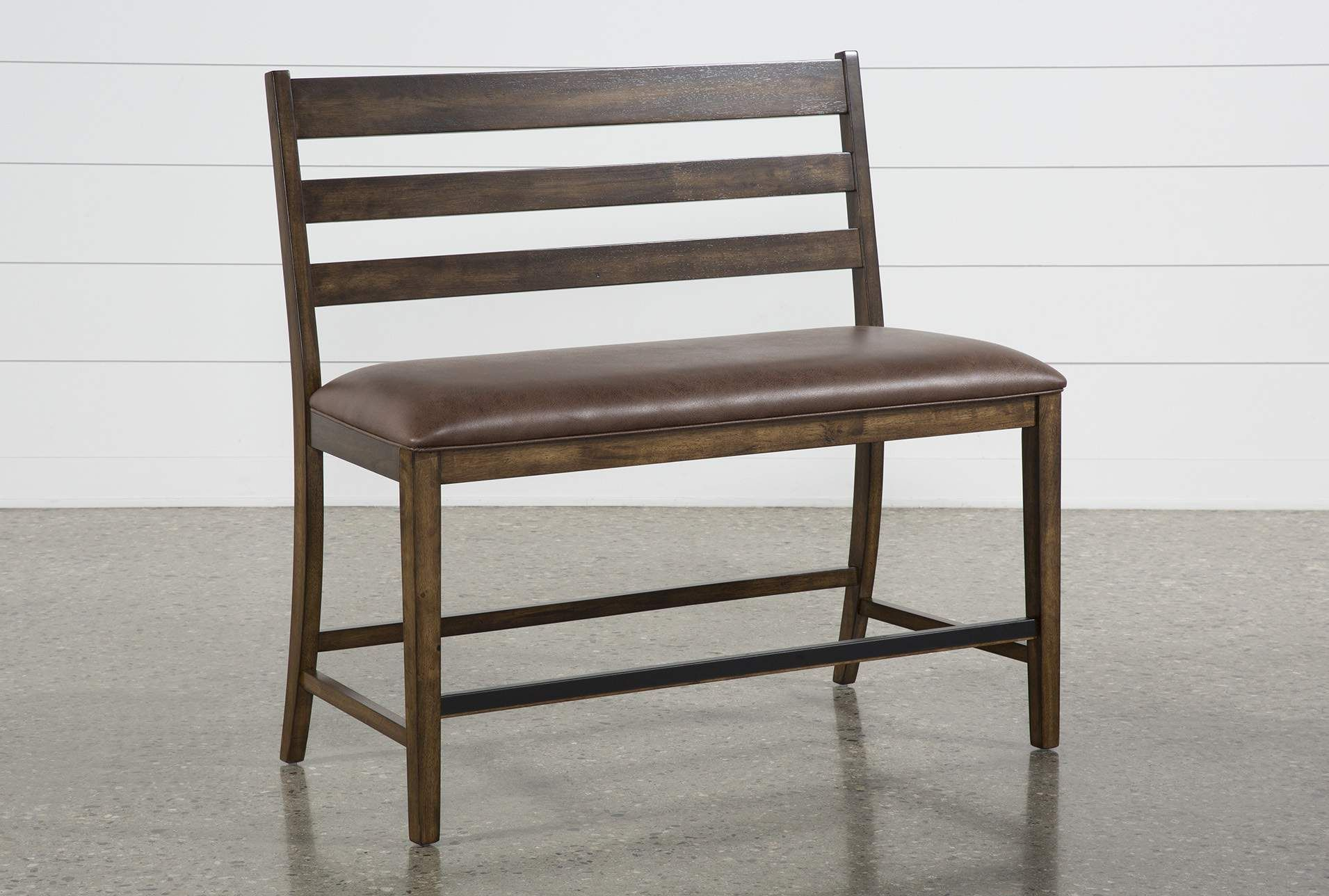 Rory Counter Bench Brown 150 Table Chairs Bench Hardwood