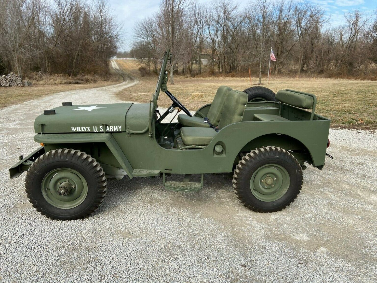 1948 Jeep Willys Cj2a In 2020 Willys Jeep Willys Jeep