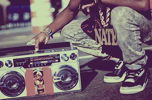 Boombox x Jordans