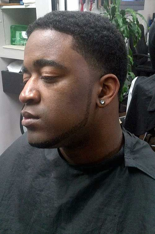 men's haircut tapered sides - Google Search