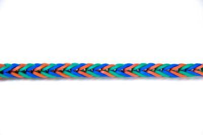 Rainbow Loom® Fishtail Bracelet with video