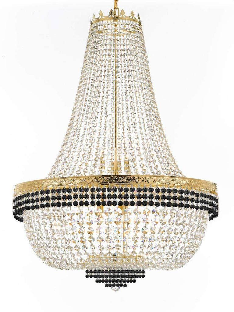 Nail Salon French Empire Crystal Chandelier Lighting Dressed