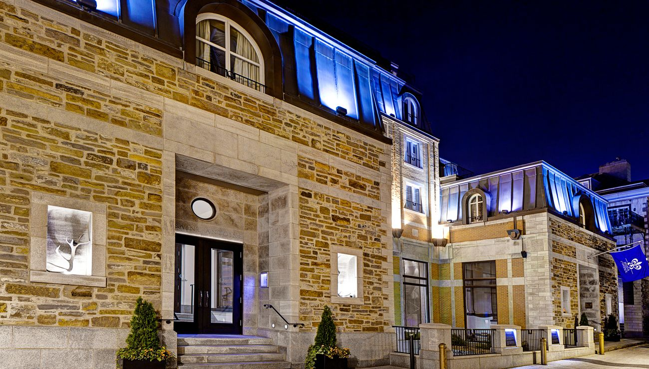 auberge saint antoine luxury hotel in qu bec city. Black Bedroom Furniture Sets. Home Design Ideas