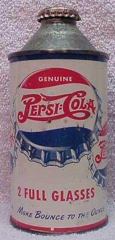 Vntg 1960s Pepsi Cola Songle Dot Bottle Cap 6 Pack 12oz Bottle Carrier