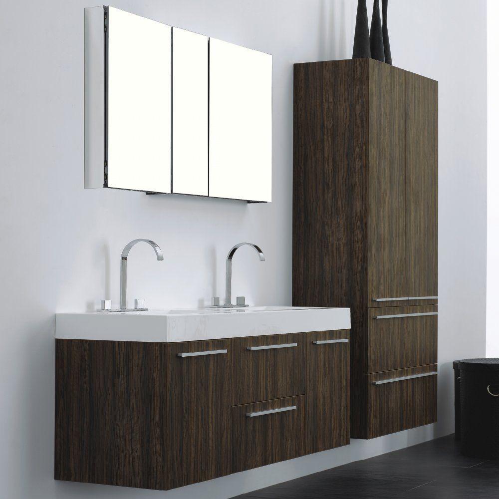 AQUA DECOR Venice 36-Inch Modern Bathroom Vanity Set W/ Medicine ...