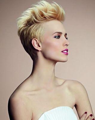 Peinados de cresta para mujer