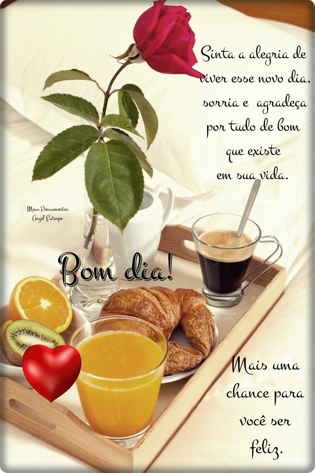 Bom Dia Um Lindo Cafe Da Manha Para Voce Meu Amor Mensagens De