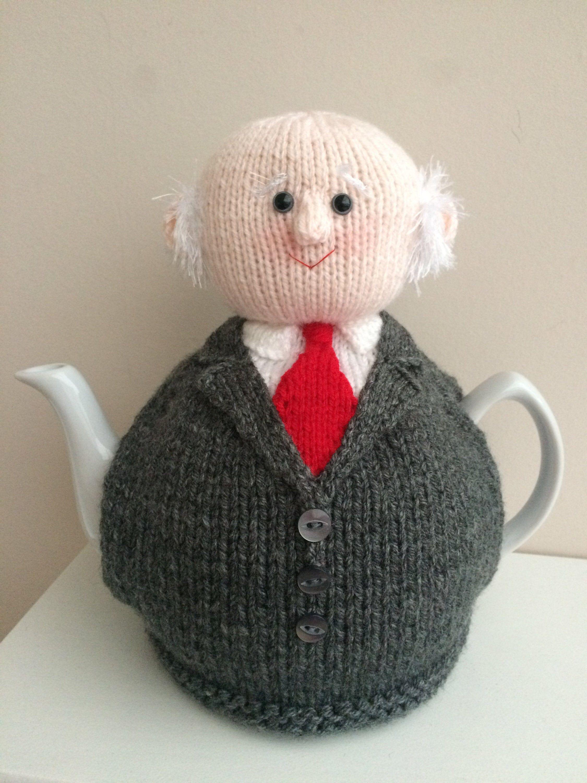 Michael Higgins Tea cosy knitting pattern. PDF digital ...