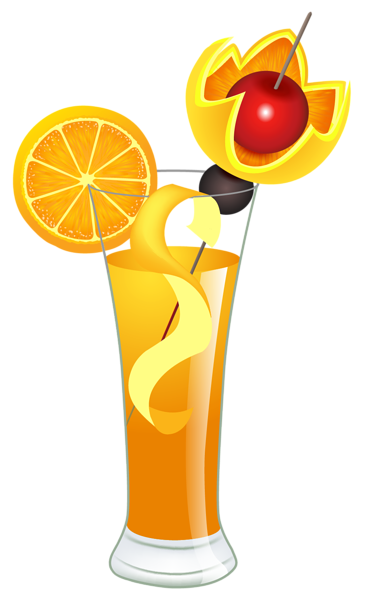 Orange Cocktail Png Clipart Picture Clip Art Drinks