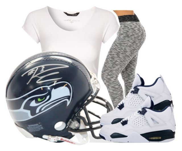 """Seattle Is Going To The Superbowl!!!"" by bhad-lexus ❤ liked on Polyvore featuring Jane Norman and Retrò"