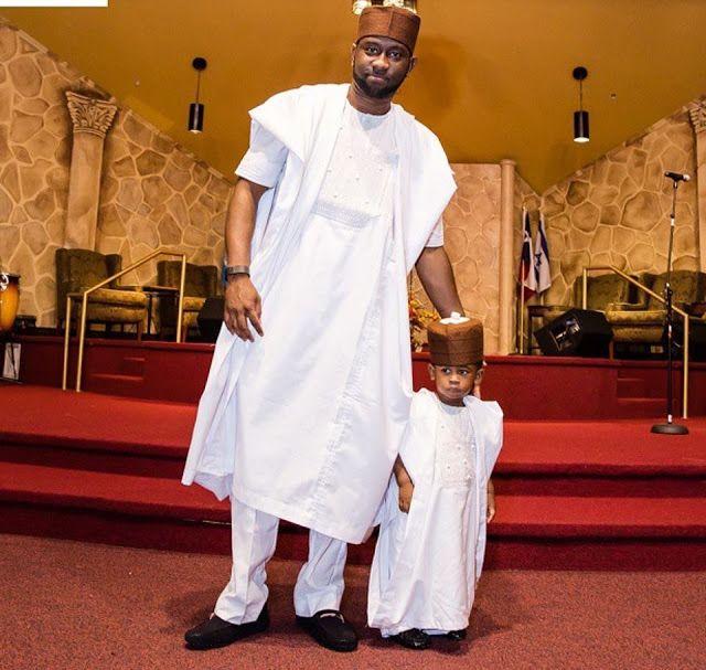 e8f998f6ba1f8 Creative Father and Son Native Style | Fashion | Agbada styles ...