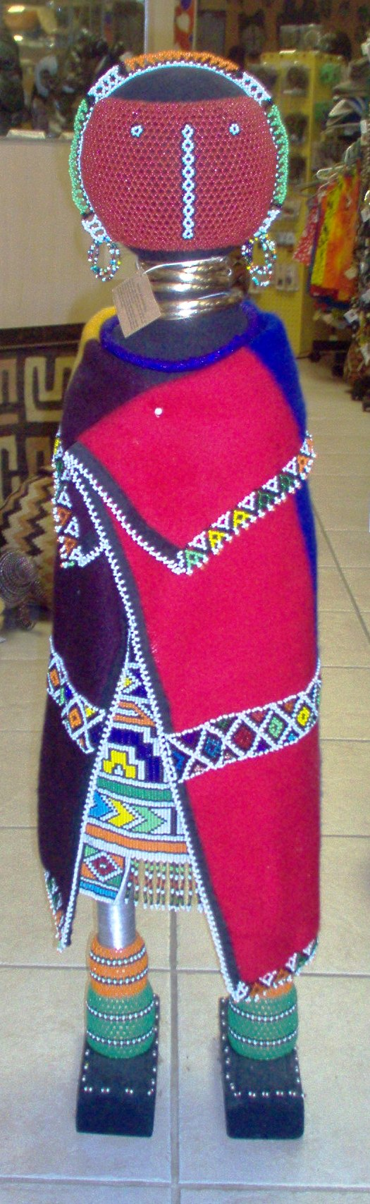 Beautiful #Ndabele #beadwork from Southern Africa