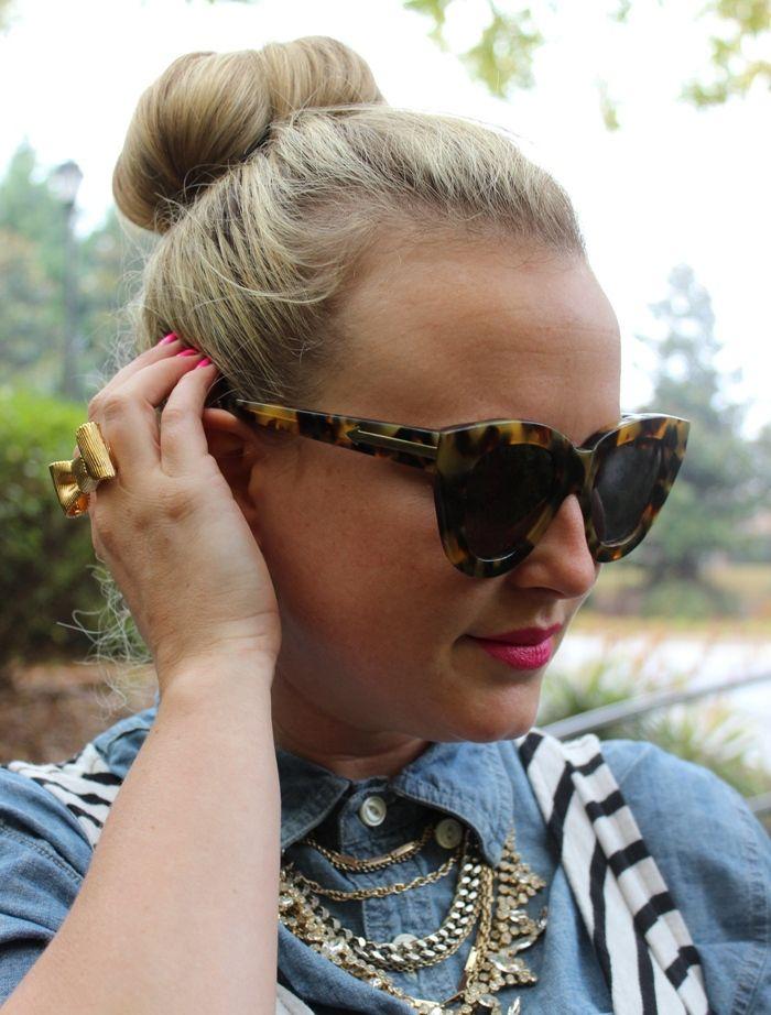 64168ff235be Karen Walker Crazy Tortoise Anytime Sunglasses