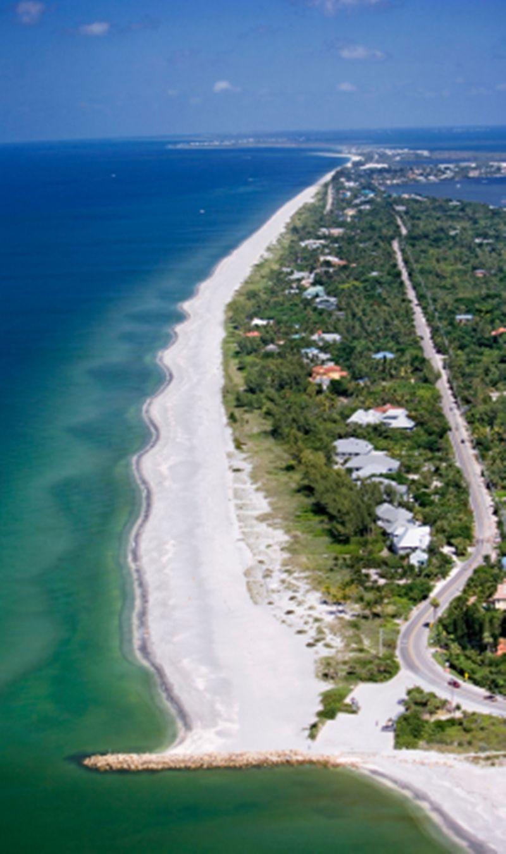 Beautiful Sanibel Island Florida Is A