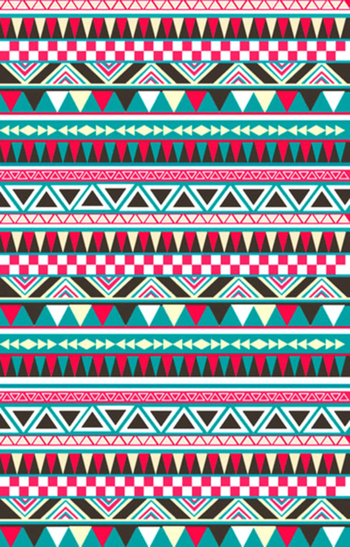 Original Jpg 1187 1852 Aztec Pattern Wallpaper Aztec Wallpaper Tribal Wallpaper