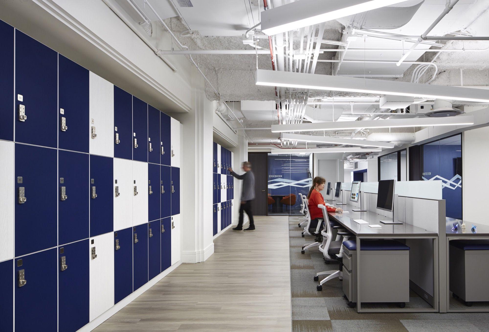 Origami Risk Us Headquarters Chicago Il Ava Smpl Alpine Oak Fog Spartansurfaces Lvt Workp With Images Interior Design Firms Eastlake Interior