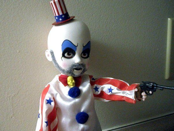 Captain Spaulding (House of 1000 Corpses, Devil's Rejects) Living Dead Doll