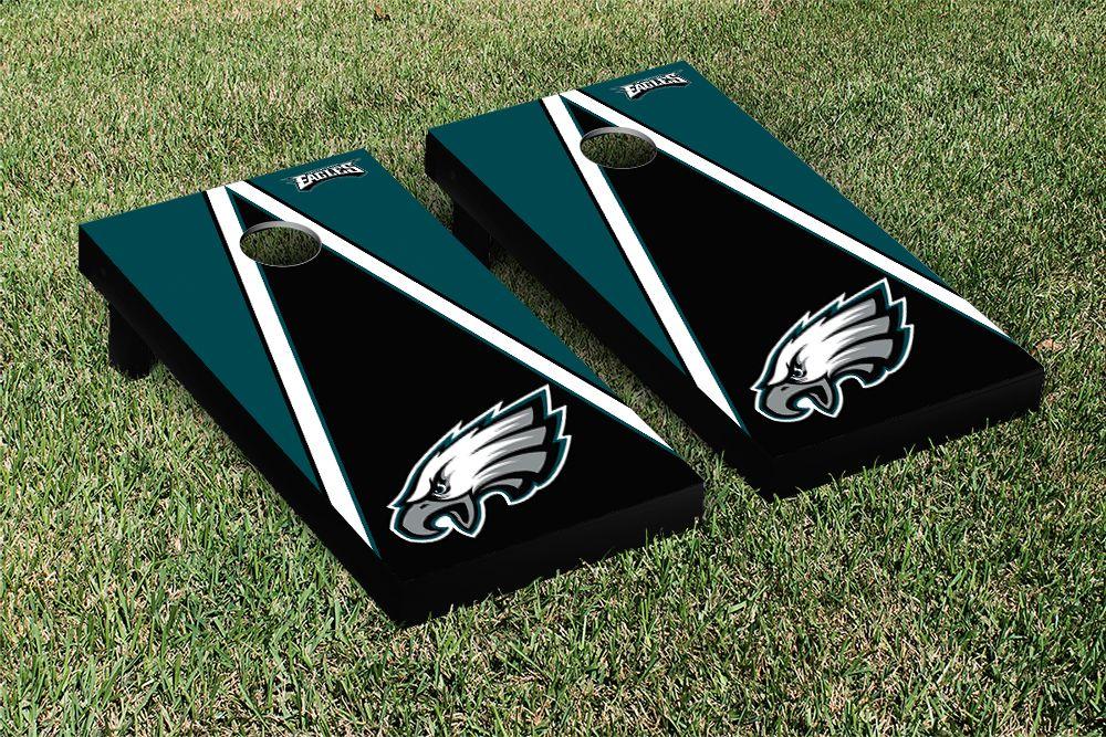 Philadelphia Eagles NFL Football Cornhole Game Set Triangle Version ...