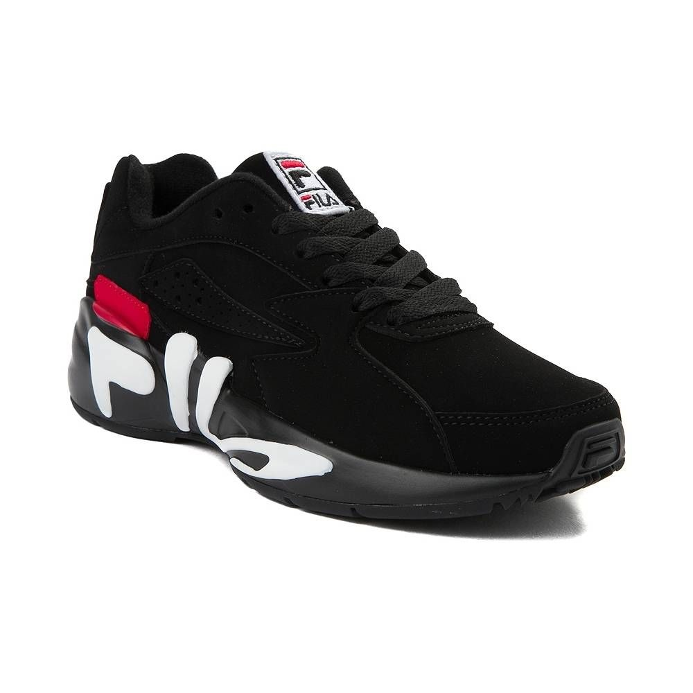 hot sale online 9f523 3dcdc Fila   Women s Mindblower Athletic Shoe   Black White Red    7499 USD    This season, Fila takes you WAY back to the 90 s with a faithful reissue of  the ...