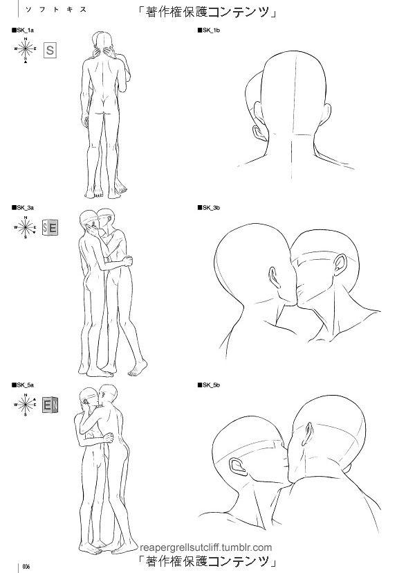 Dedos em Chamas : reapergrellsutcliff: \'Kiss Scene rough sketches ...