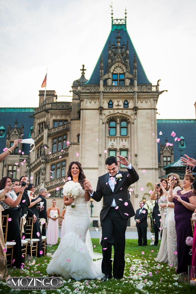 Our wedding biltmore estate front lawn ceremony danny for Biltmore estate wedding prices