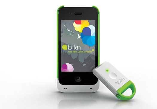A tracker system for your iPhone that tracks up to 8