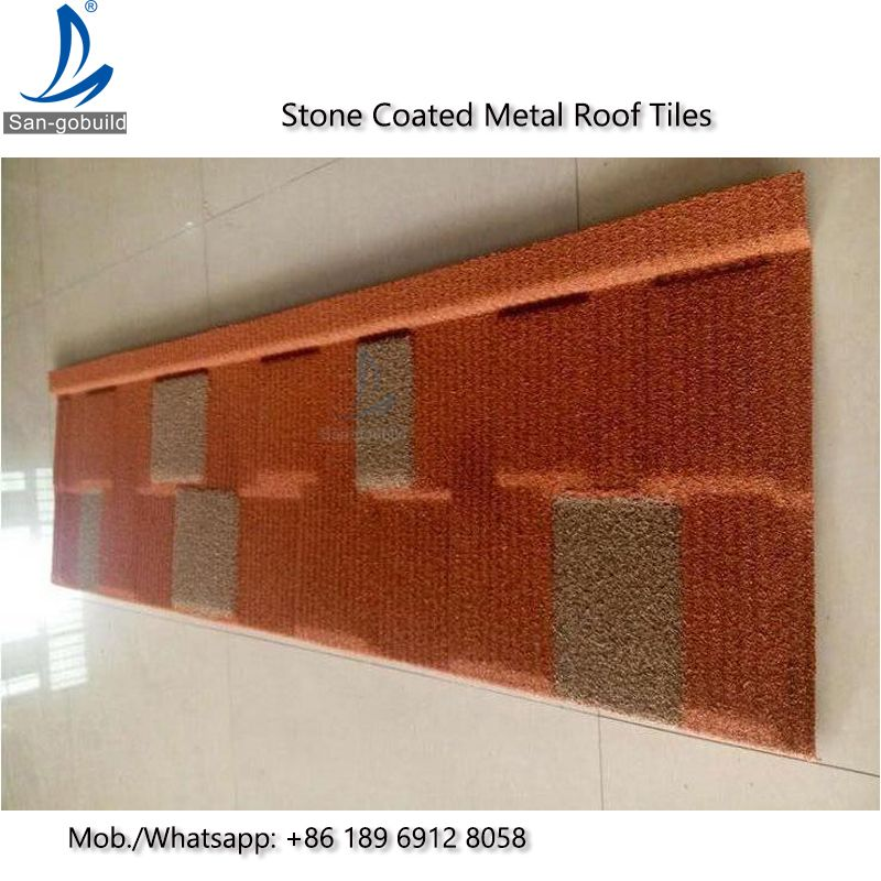 Best Price Stone Coated Metal Tile Decras Roofing Systems For Kenya