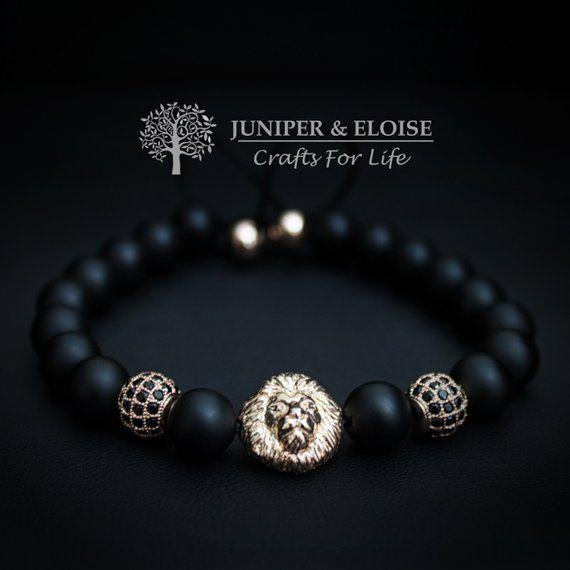046d02d0fcfdc Valentine Day Gift, Lion Bracelet Mens Bracelet, Womens Jewelry,Gift ...