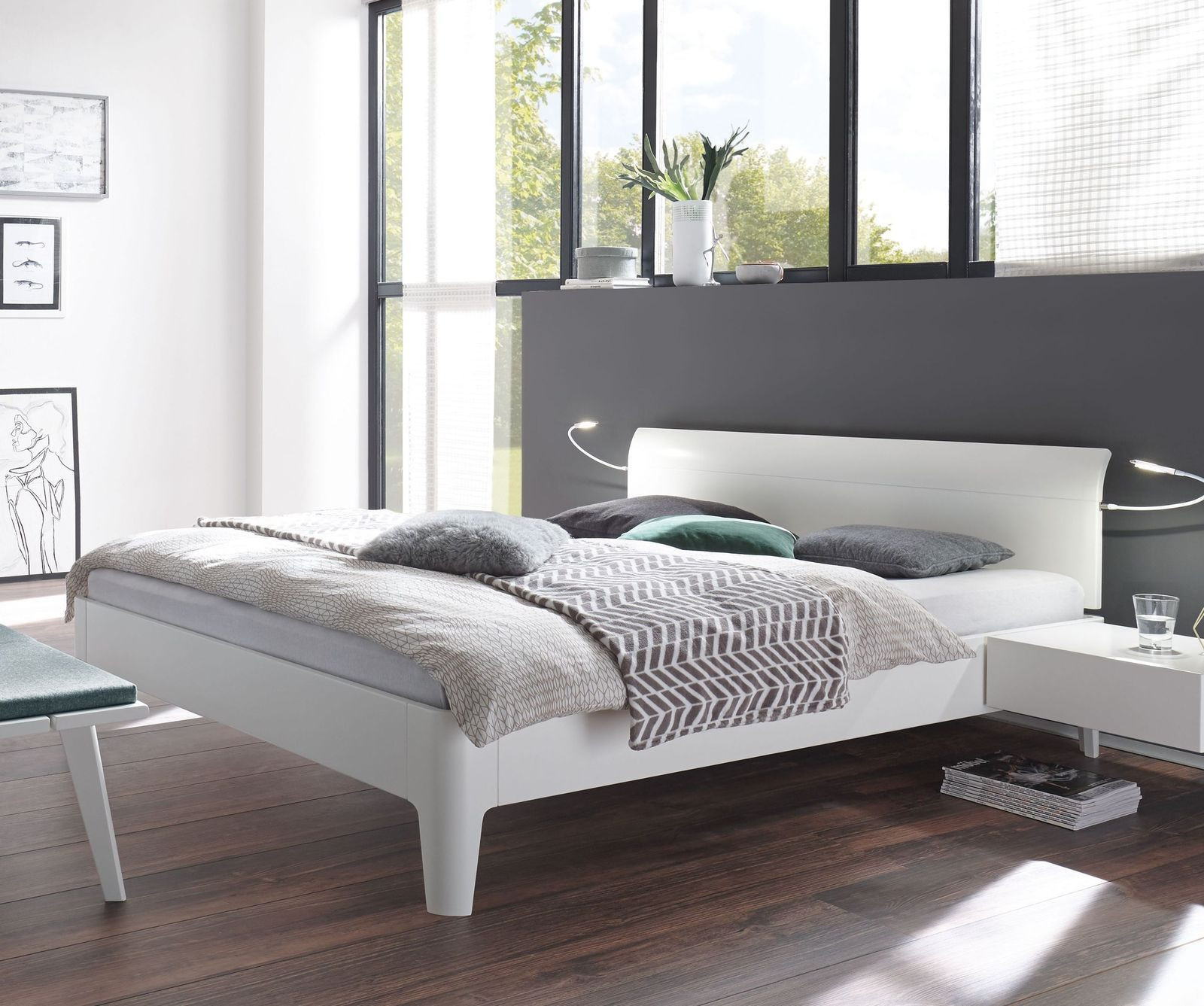 Bett Modern Design Bett Narva | Bed Design, Contemporary Bedroom Furniture ...