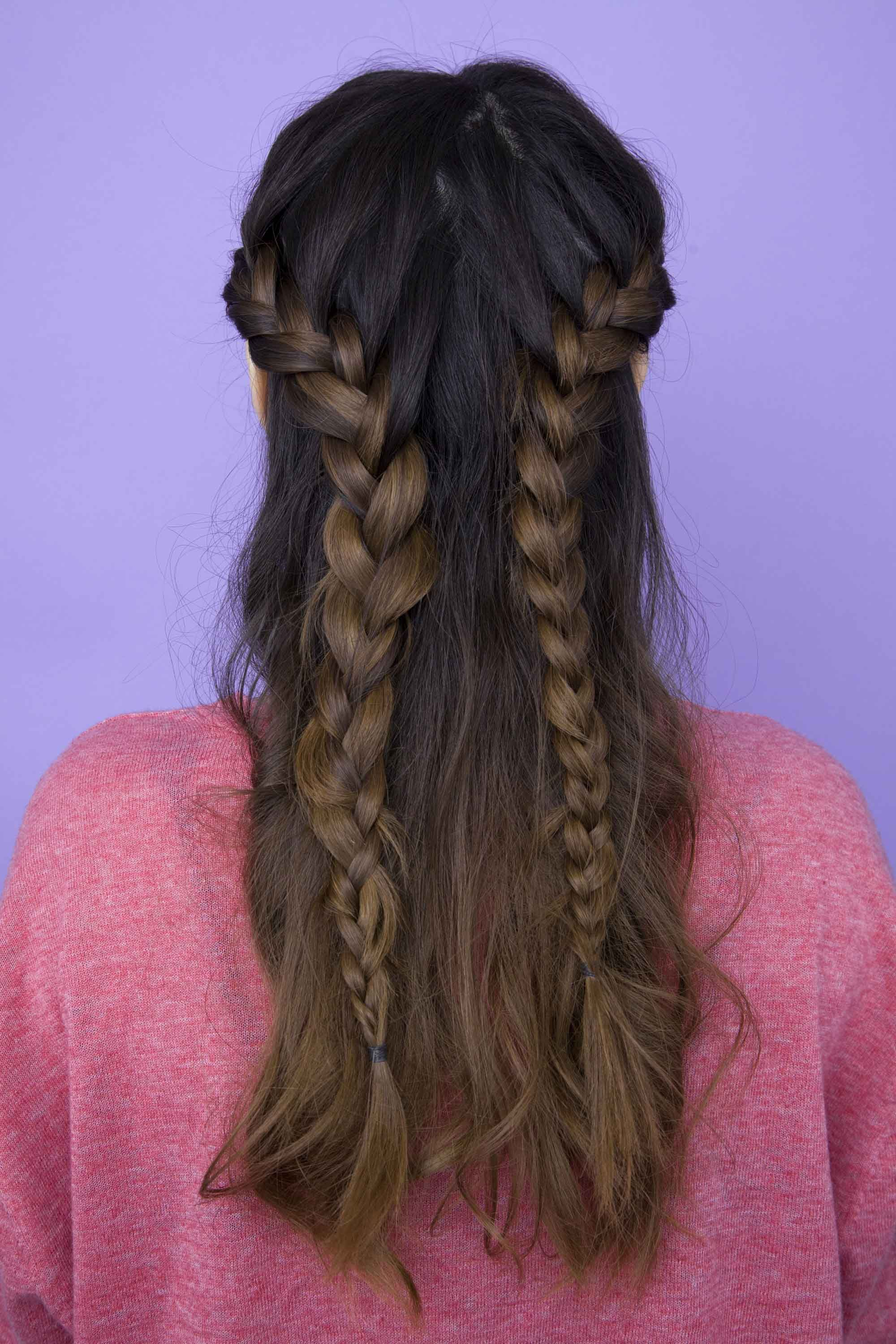 French Braid Hairstyles Brilliant Unusual And Stunning French Braid Hairstyles To Try Now  Hair