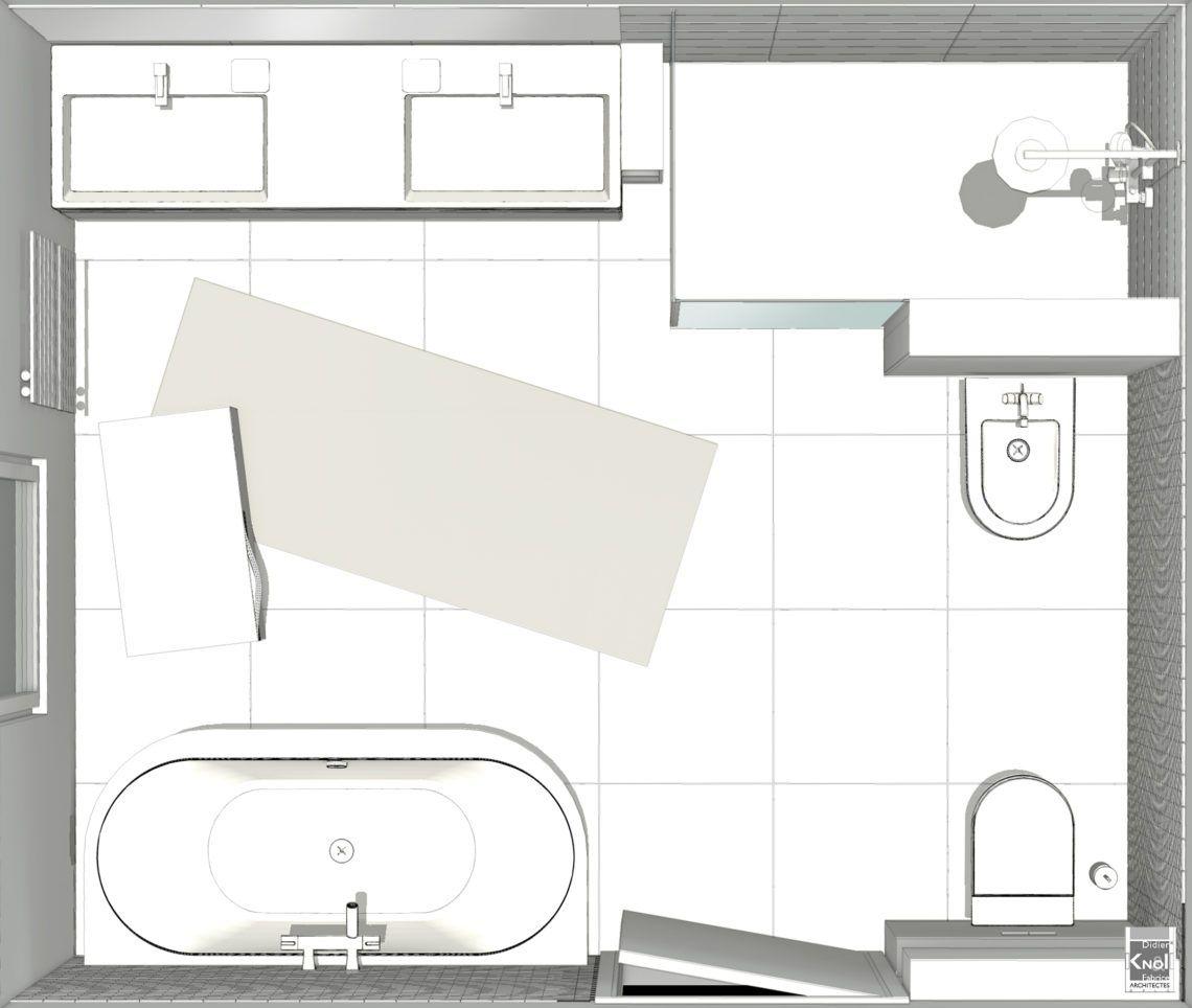 Plan Petite Salle De Bain Avec Baignoire - Novocom.top