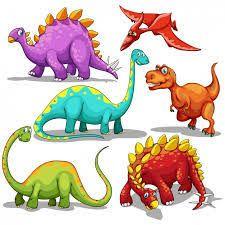 Resultado De Imagem Para Dibujos De Dinosaurios Infantiles