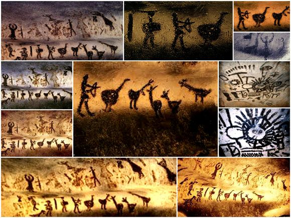 Magura cave drawings  On the cave's walls were discovered