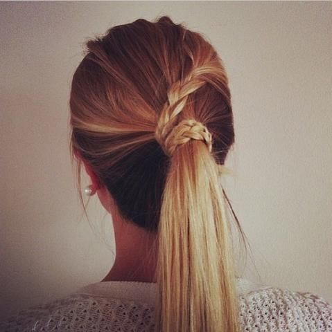 Braune haare blondieren friseur