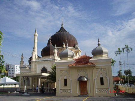 Mezquita Zahir, Malasia