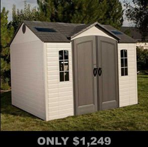 Only 1 249 Outdoor Storage Sheds Plastic Sheds Shed