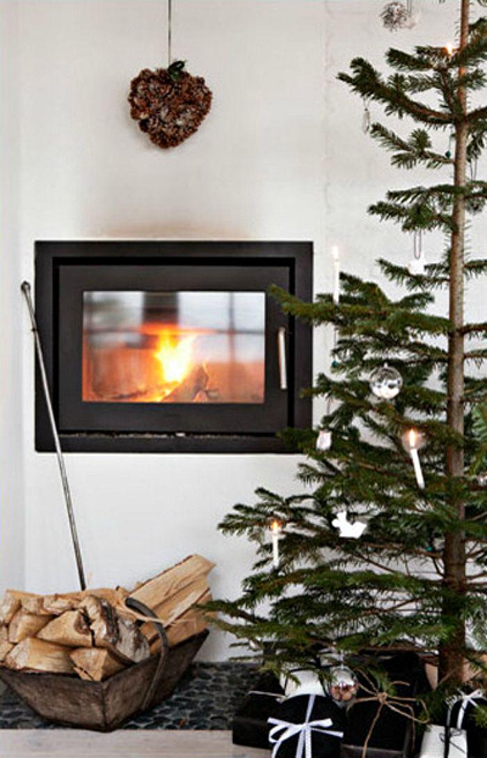 14 wunderschöne skandinavische Wohnzimmer zu Weihnachten gekleidet - wohnzimmer ideen ikea
