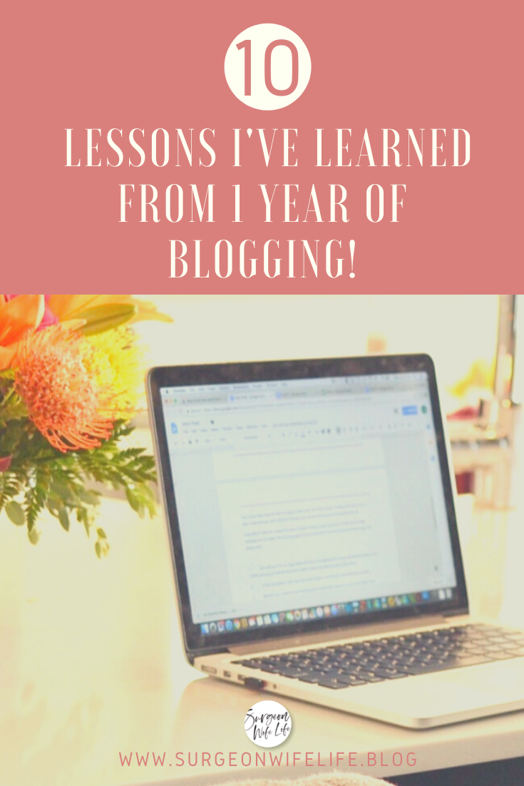 Get an extra glimpse into my blogging world, as I dive deep into the good and the bad of my first year of blogging, and how my perspective has changed as I've gained experience and insight into a world I knew nothing about until I dove head first into it. 😳