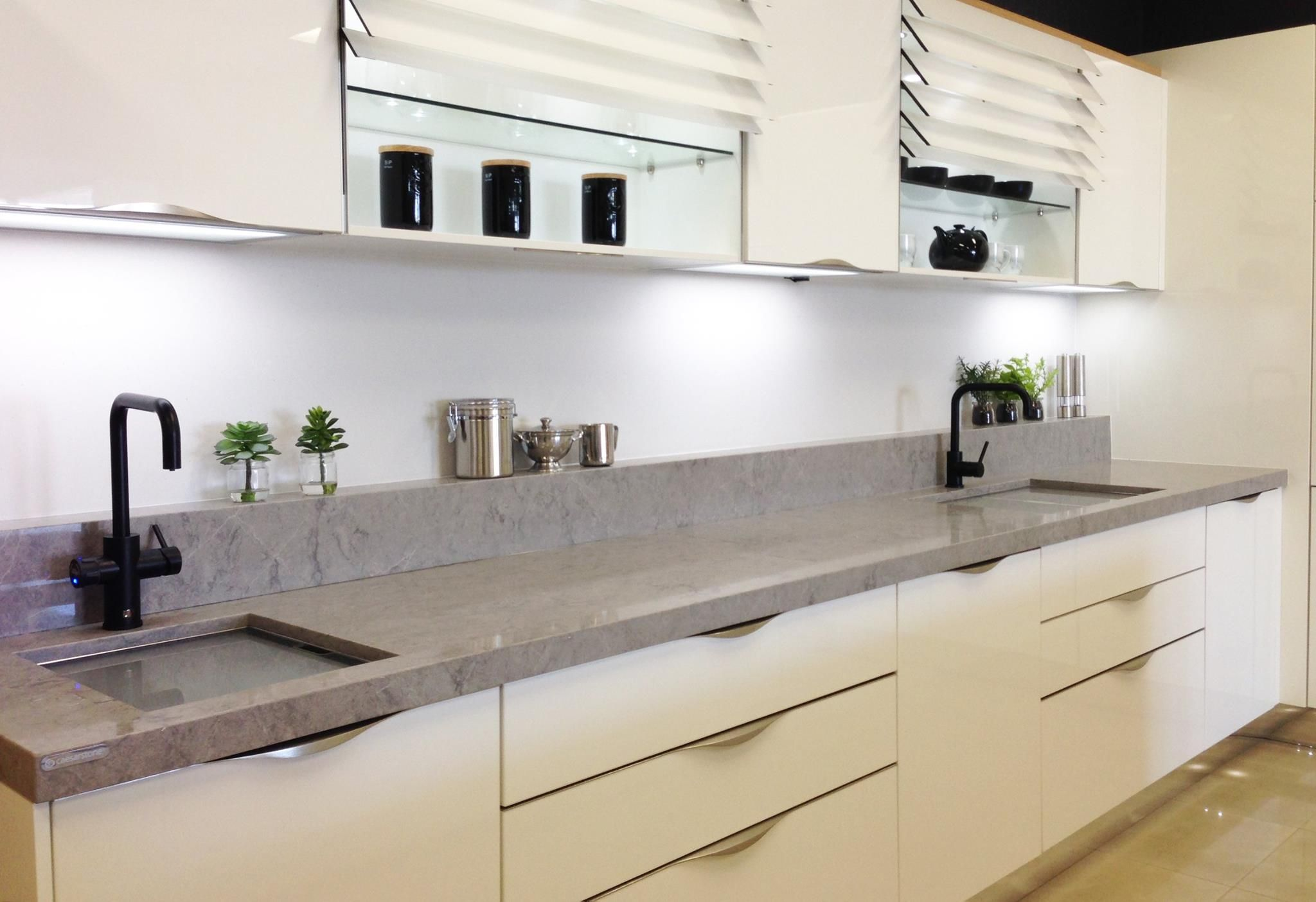 New 2016 Caesarstone Symphony Grey Caesarstone Pinterest Kitchens Countertops And