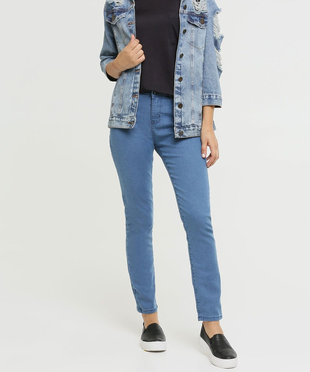 Photo of Jeans skinny elástico para mulher